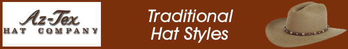 Az-Tex Traditional Hat Styles
